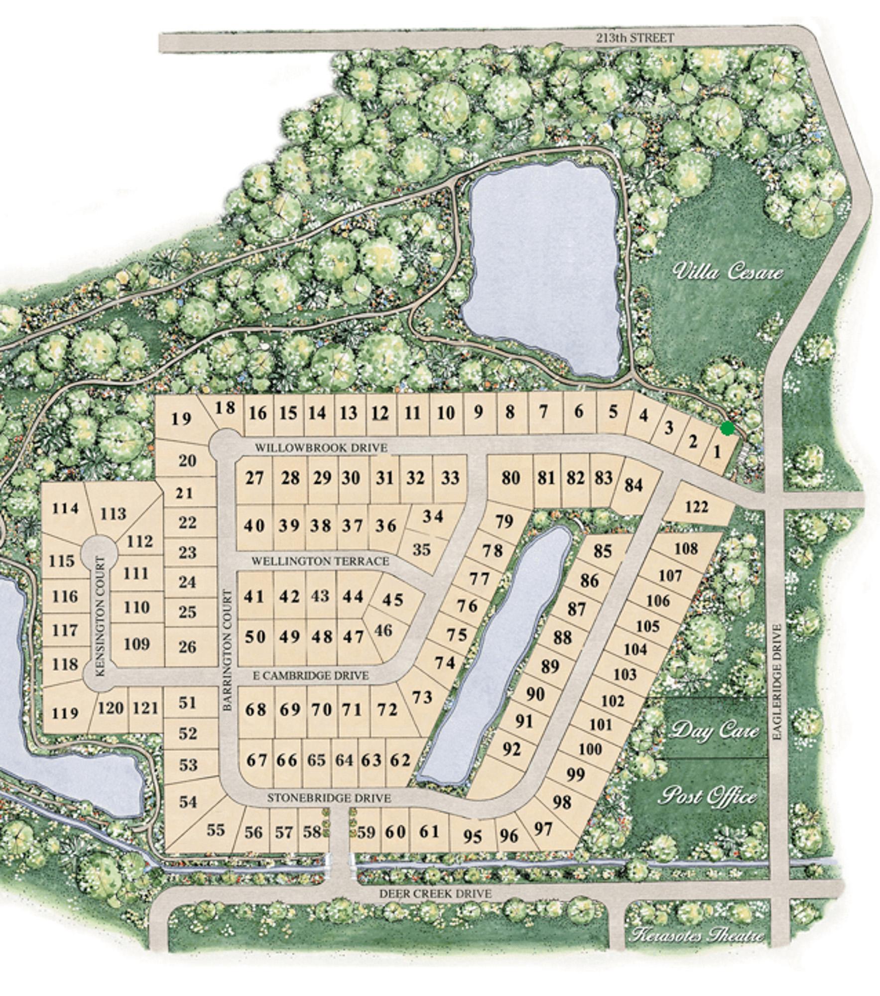 StoneBridge Map
